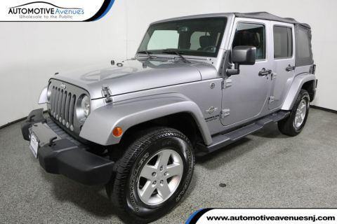 Pre-Owned 2014 Jeep Wrangler Unlimited 4WD 4dr Sport Freedom Edition
