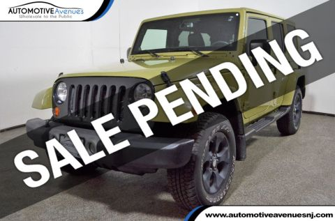 2013 Jeep Wrangler Unlimited 4WD 4dr Sahara Four Wheel Drive SUV