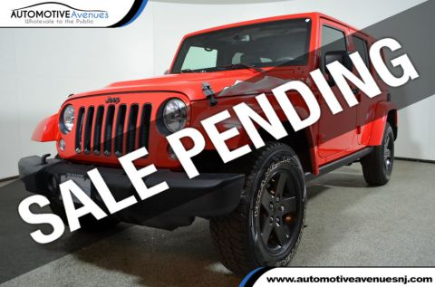 2015 Jeep Wrangler Unlimited 4WD 4dr Altitude Four Wheel Drive SUV