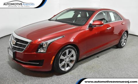 Pre-Owned 2015 Cadillac ATS Sedan 2.0L Luxury w/ Sun & Sound and Cold Weather Pkgs