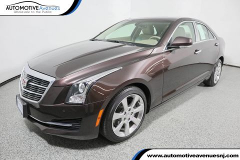 Pre-Owned 2016 Cadillac ATS Sedan Sedan 2.0L Luxury Collection AWD with Sun & Sound Package & Nav