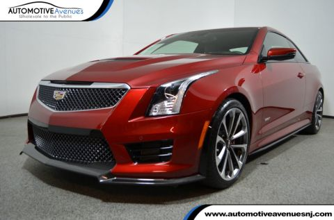 2016 Cadillac ATS-V Coupe 2dr Coupe with Safety & Security & Recaro Performace Seats Rear Wheel Drive Coupe