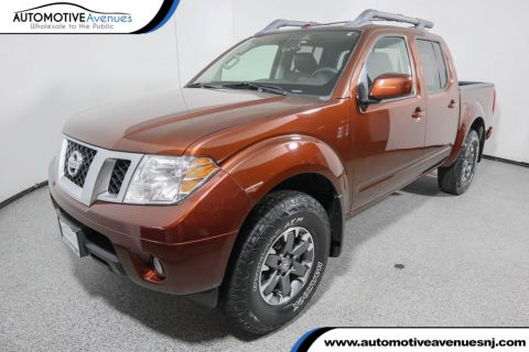 Pre-Owned 2016 Nissan Frontier 4WD Crew Cab SWB Automatic PRO-4X with Luxury Package