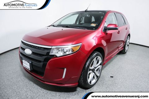 Pre-Owned 2011 Ford Edge 4dr Sport AWD with Navigation & Panoramic Vista Roof