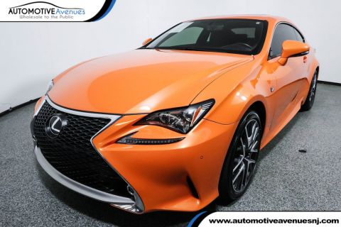 Pre-Owned 2017 Lexus RC RC 300 F Sport AWD Molten Pearl with Navi & Power Moonroof