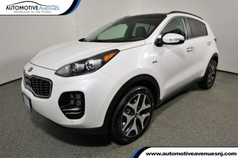 2018 Kia Sportage AWD SX Turbo w/ Heated/Ventilated Seats, Navi, & Pano Sunroof