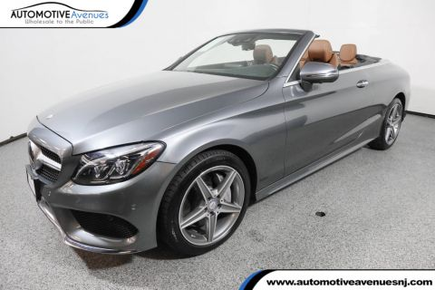 Pre-Owned 2017 Mercedes-Benz C-Class C 300 4MATIC® Cabriolet with Premium 3 and Sport Packages