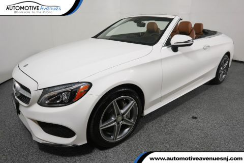Pre-Owned 2017 Mercedes-Benz C-Class C 300 4MATIC® Cabriolet with Sport Package & Premium 2 Package