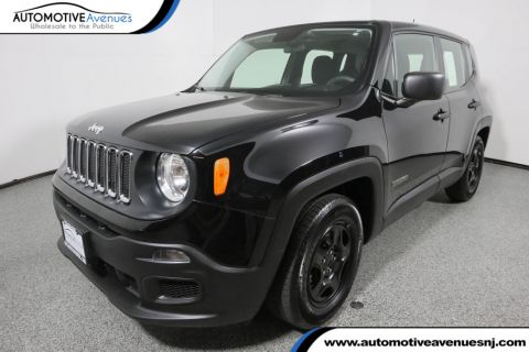 Pre-Owned 2017 Jeep Renegade Sport FWD with Power & Air Group