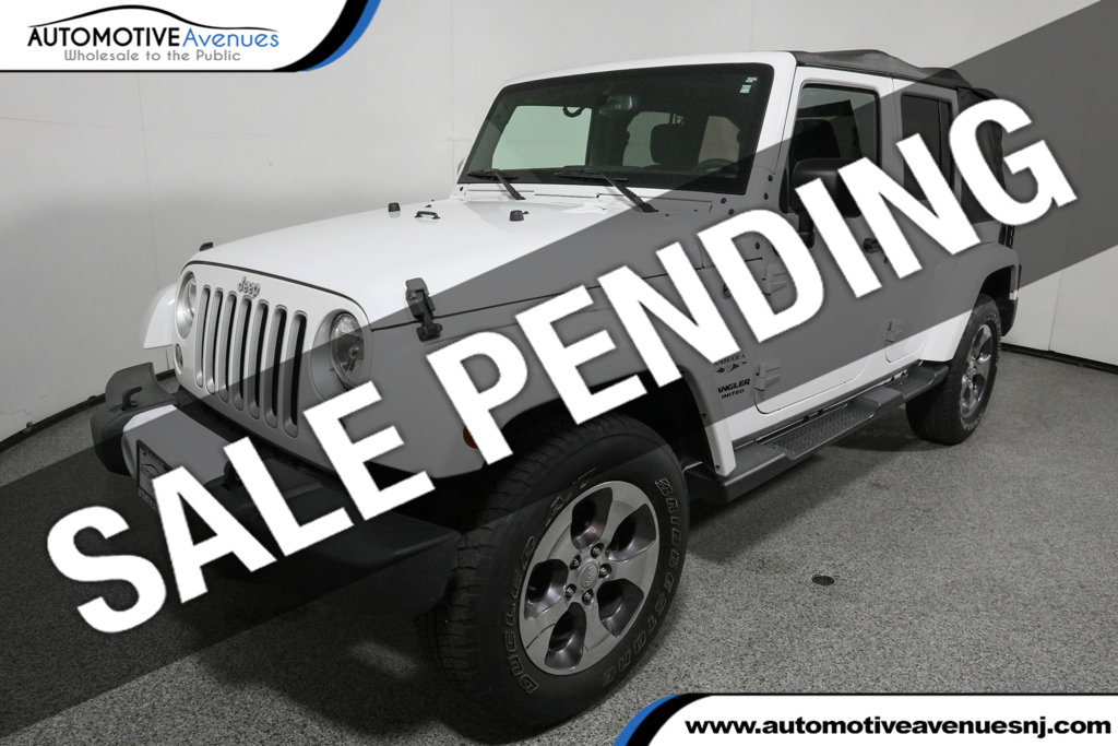 Pre Owned 2016 Jeep Wrangler Unlimited 4wd 4dr Sahara