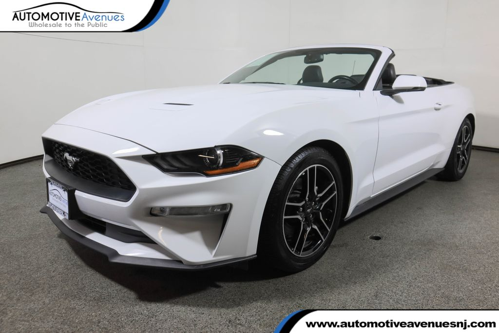 Pre-Owned 2020 Ford Mustang EcoBoost Premium Convertible