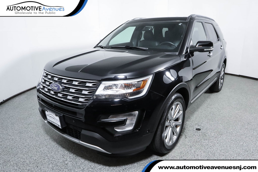 Pre Owned 2017 Ford Explorer Limited 4wd With Twin Panel Moonroof