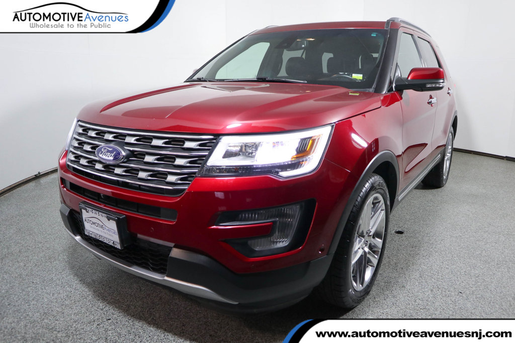 Pre Owned 2016 Ford Explorer 4wd 4dr Limited With Twin Panel Moonroof 20 Inch
