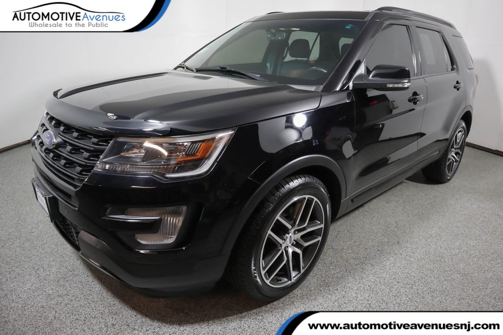 Pre-Owned 2017 Ford Explorer Sport 4WD with Twin Panel Moonroof