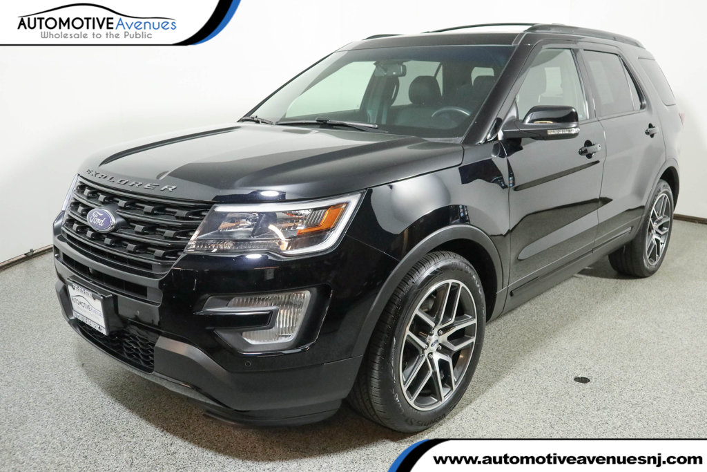 Pre-Owned 2016 Ford Explorer 4WD 4dr Sport with 401A Package & Twin Panel Moonroof