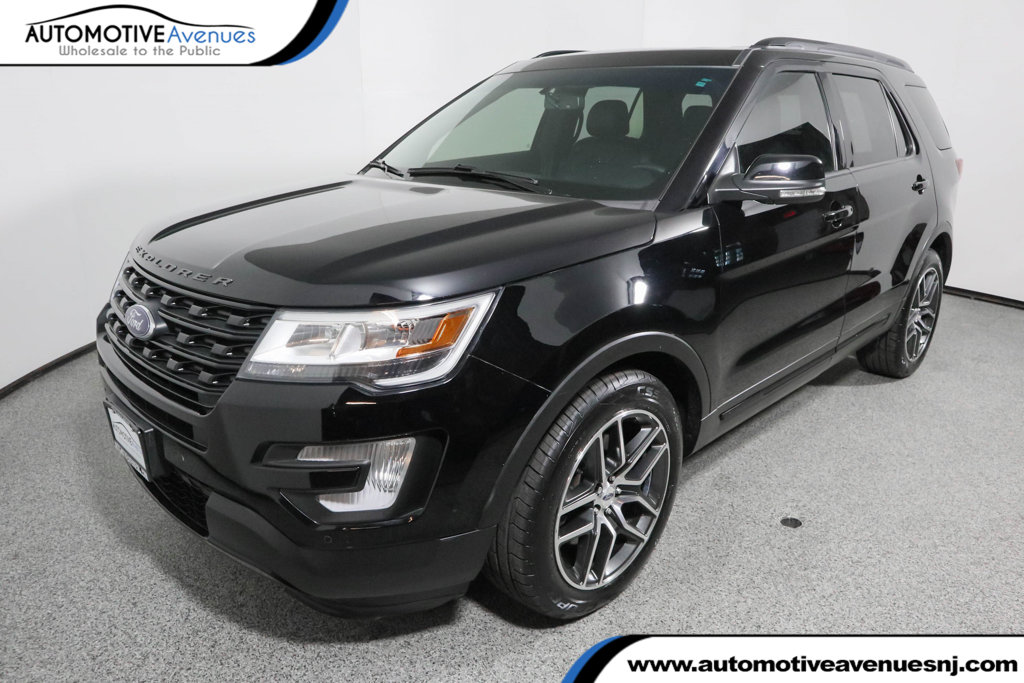 Pre Owned 2016 Ford Explorer 4wd 4dr Sport With Twin Panel Moonroof Navigation
