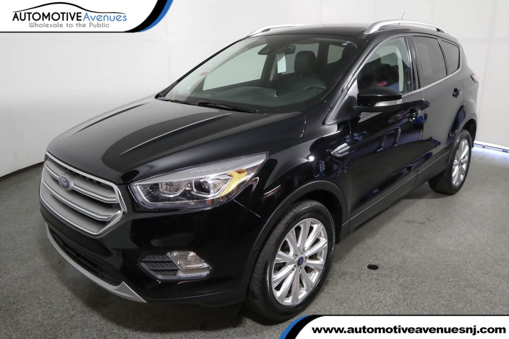 Pre-Owned 2017 Ford Escape Titanium 4WD w/ Technology Package