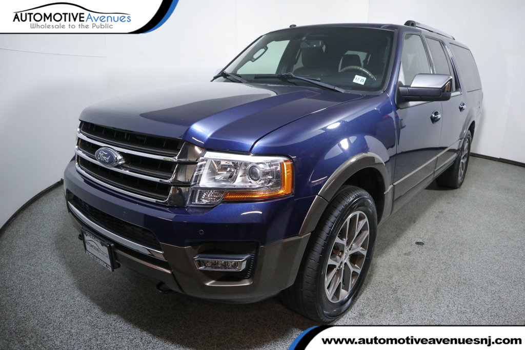 Pre-Owned 2017 Ford Expedition EL King Ranch 4x4