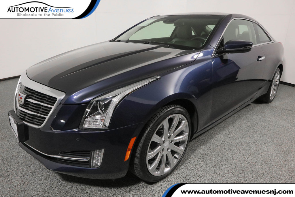 Pre-Owned 2015 Cadillac ATS Coupe 2dr Coupe 2.0L Premium AWD