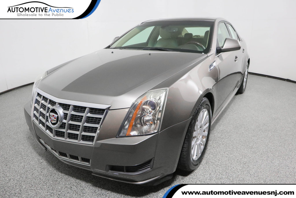 Pre-Owned 2012 Cadillac CTS Sedan 4dr Sedan 3.0L Luxury AWD with Ultraview Sunroof