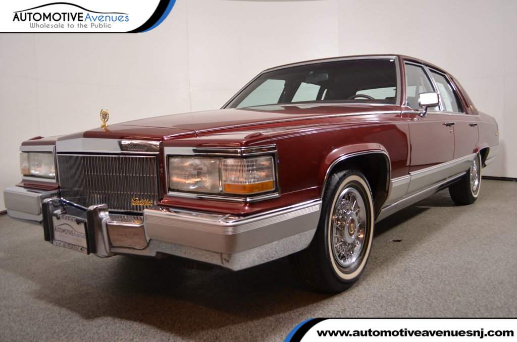 1990 Used Cadillac Brougham 4dr Sedan Sedan available at ...
