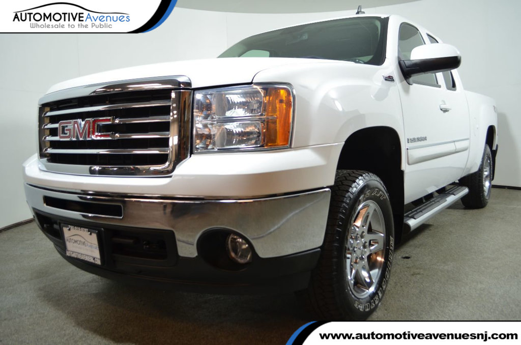 Pre Owned 2009 Gmc Sierra 1500 4wd Ext Cab Slt With All Terrain Z71