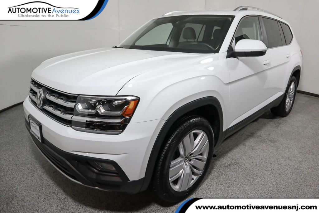 Pre-Owned 2019 Volkswagen Atlas 3.6L V6 SE w/Technology 4MOTION with 20 Inch Wheels