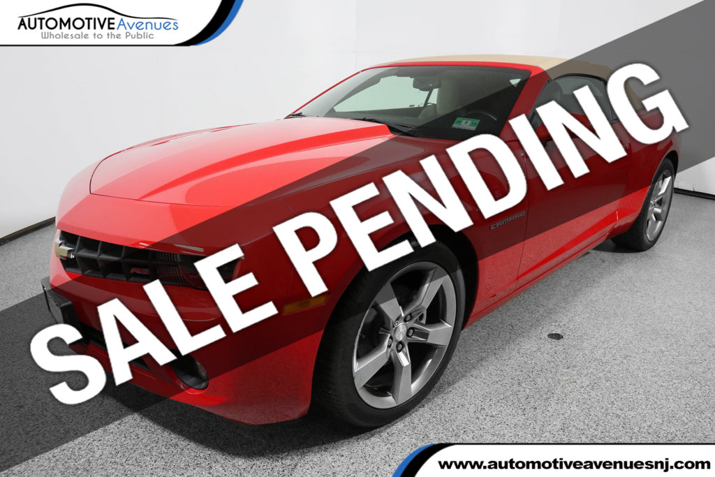 Pre Owned  Chevrolet Camaro Dr Convertible Lt With Rs Package