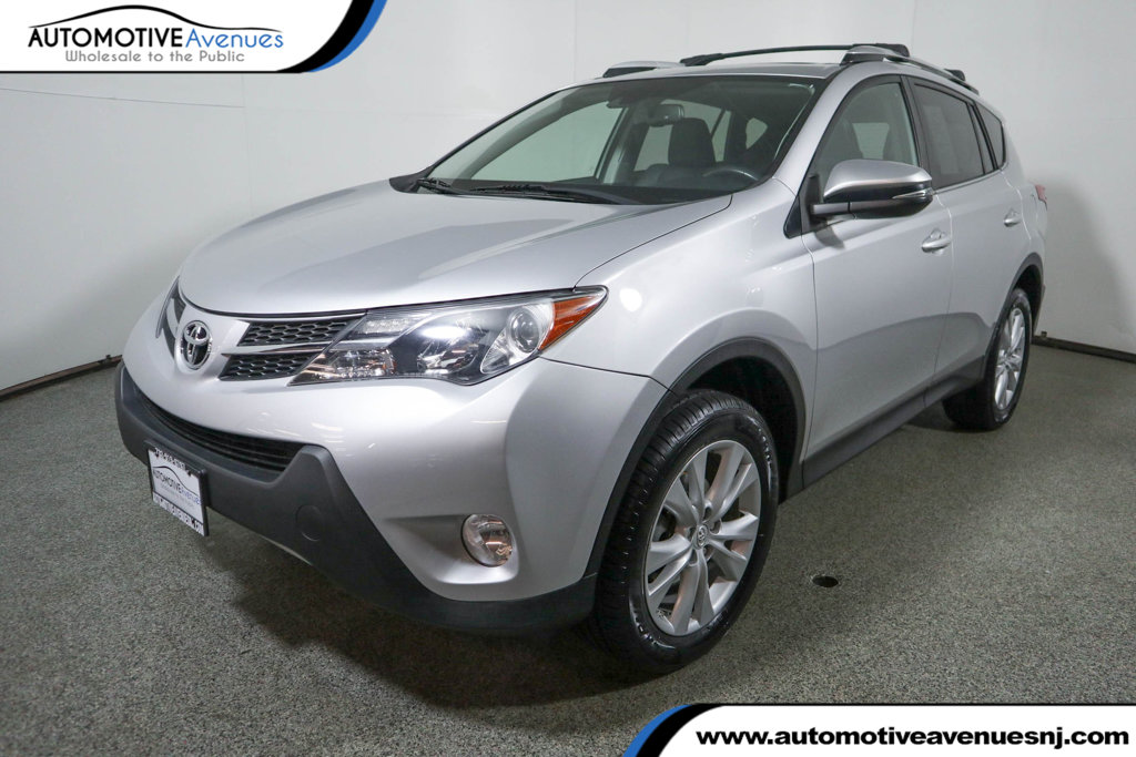 Pre-Owned 2015 Toyota RAV4 AWD 4dr Limited w/ Technology Package
