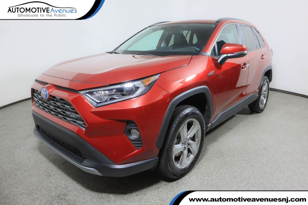 Pre-Owned 2020 Toyota RAV4 Hybrid Limited AWD