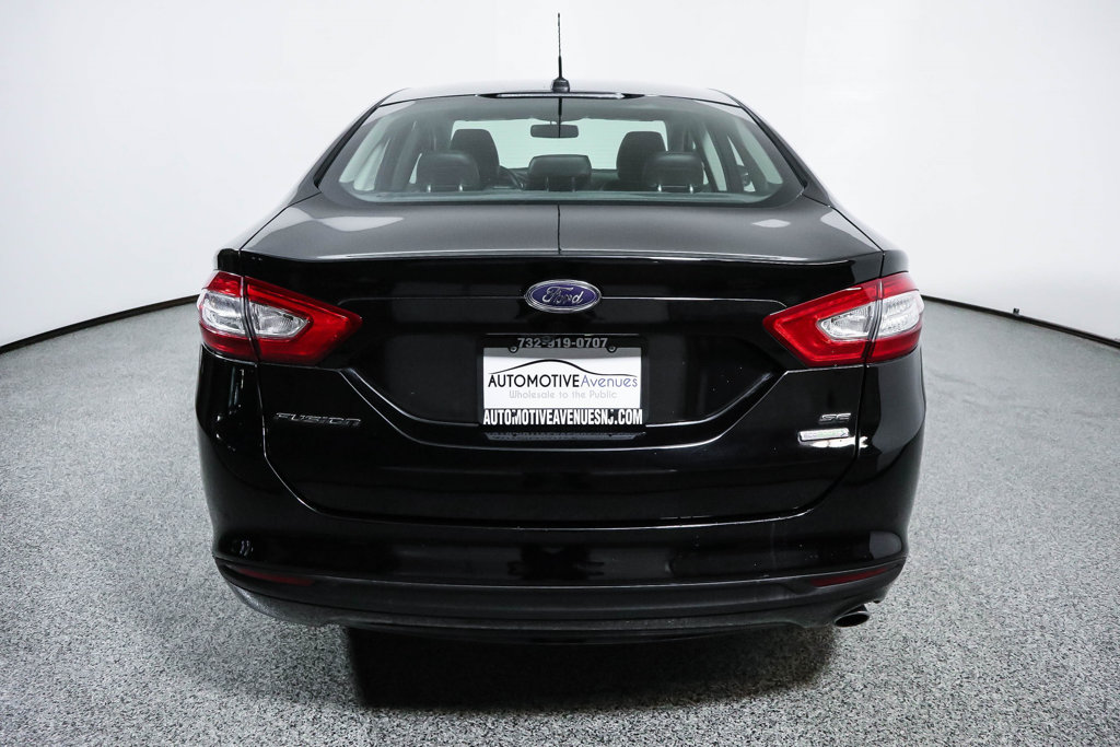 Pre Owned 2016 Ford Fusion 4dr Sedan Se With Luxury Package Moonroof Navigation