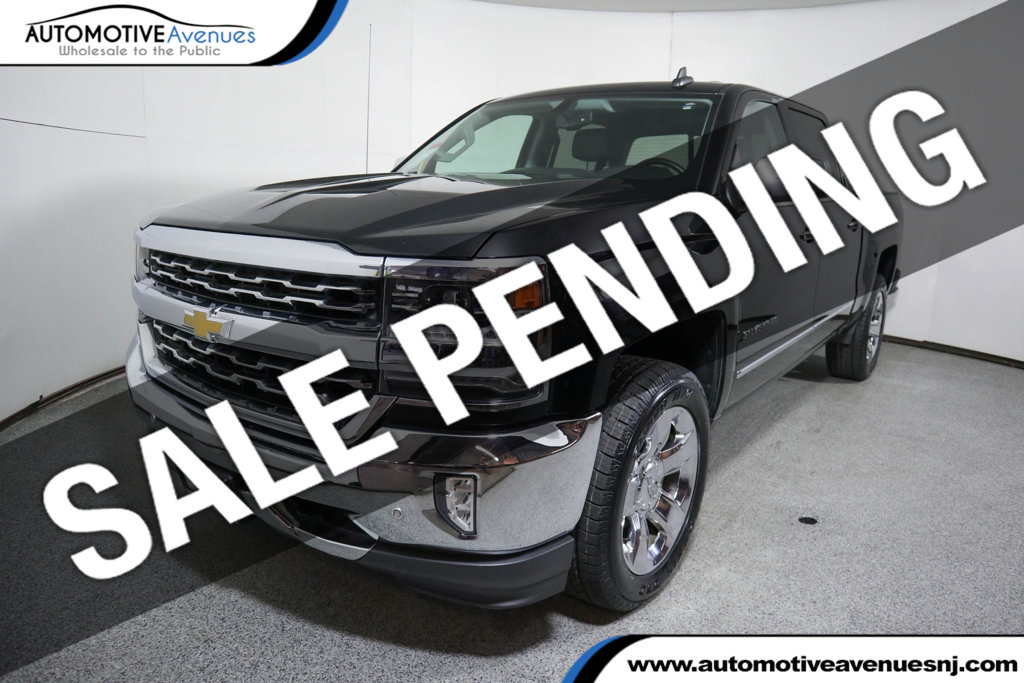 "Pre-Owned 2017 Chevrolet Silverado 1500 4WD Crew Cab 143.5"" LTZ w/1LZ w/ Sport & Plus Packages"