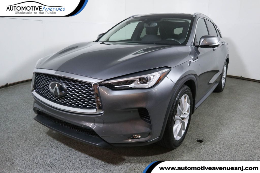 Pre-Owned 2019 INFINITI QX50 ESSENTIAL AWD w/ Premium Audio, Heat, & Proassist Packages