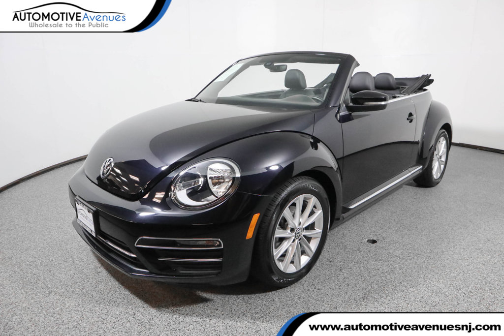 Pre-Owned 2017 Volkswagen Beetle Convertible 1.8T SE Automatic