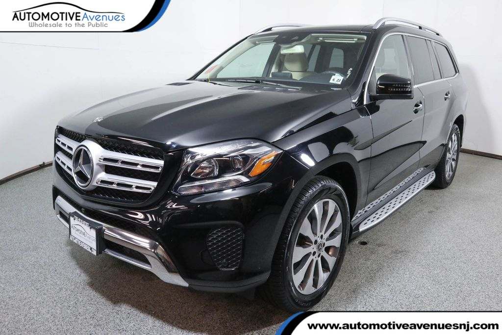Pre-Owned 2018 Mercedes-Benz GLS GLS 450 4MATIC® SUV w/ Premium Package & Panorama Roof