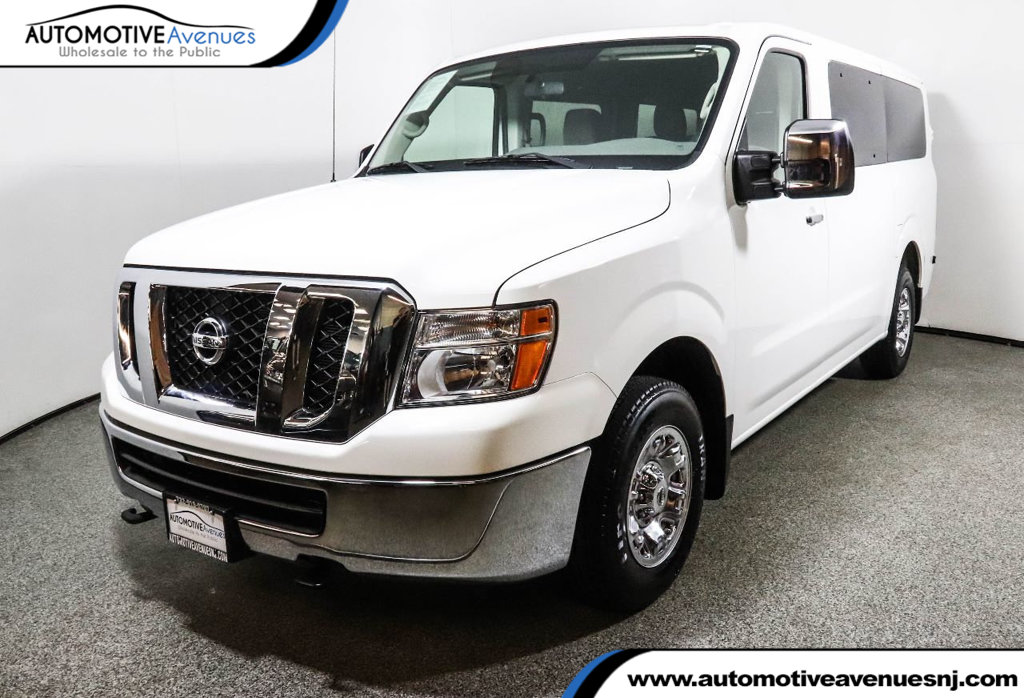 Pre Owned 2017 Nissan NV Passenger V8 SV With Technology Package