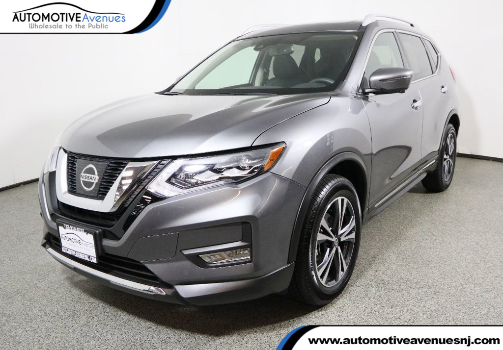 Pre Owned 2017 Nissan Rogue Awd Sl Premium Packge