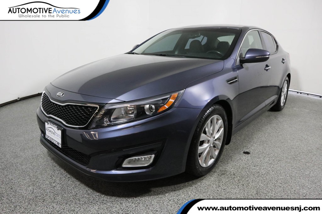 Pre-Owned 2015 Kia Optima 4dr Sedan EX