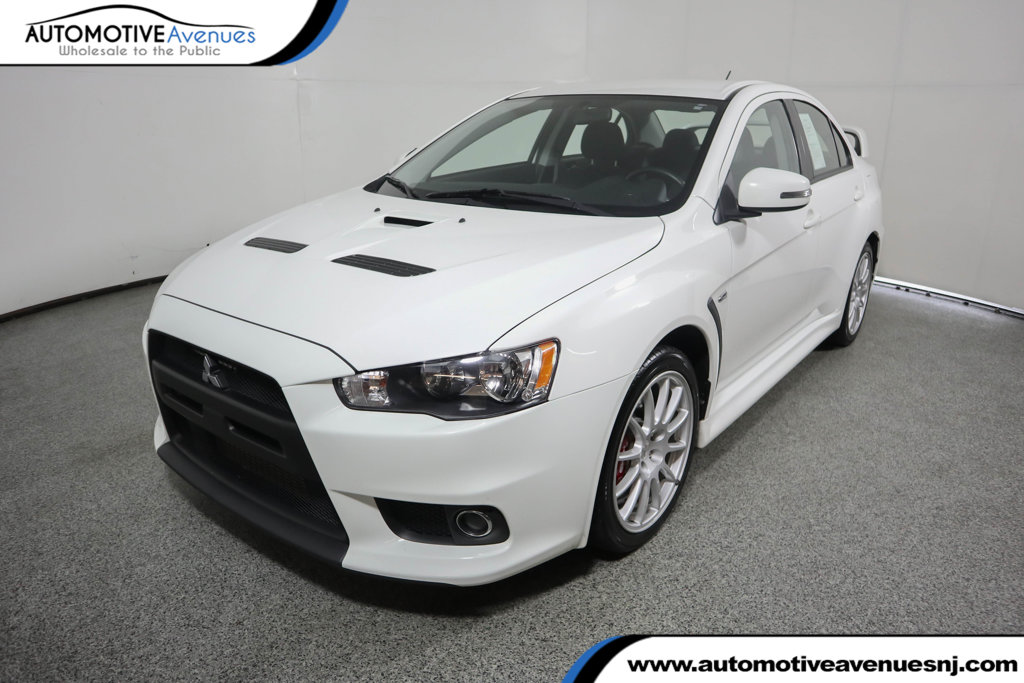 Pre Owned 2015 Mitsubishi Lancer Evolution 4dr Sedan Manual GSR