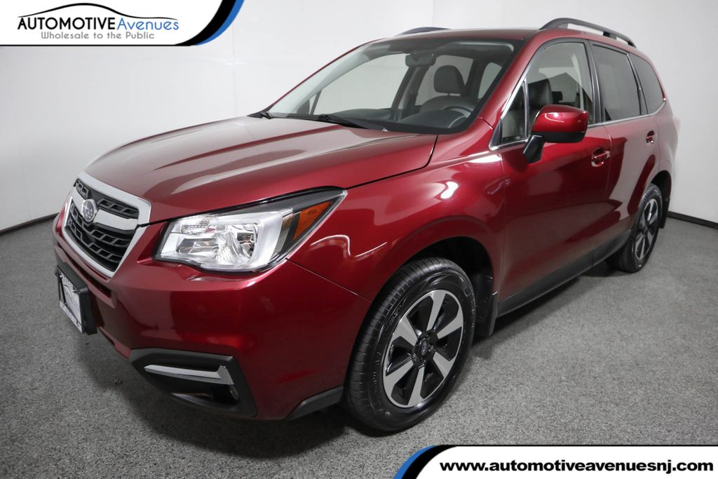 Pre-Owned 2017 Subaru Forester 2.5i Limited CVT w/ Navigation & Harman Kardon Audio