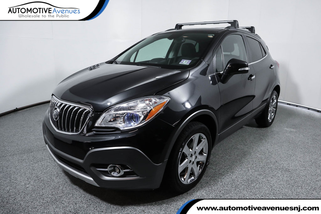Pre-Owned 2014 Buick Encore AWD 4dr Leather with Power Sunroof
