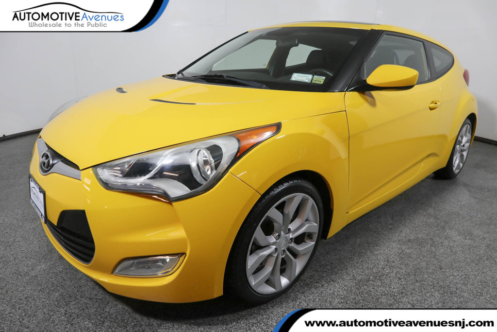Pre-Owned 2012 Hyundai Veloster 3dr Coupe Automatic w/ Style Package