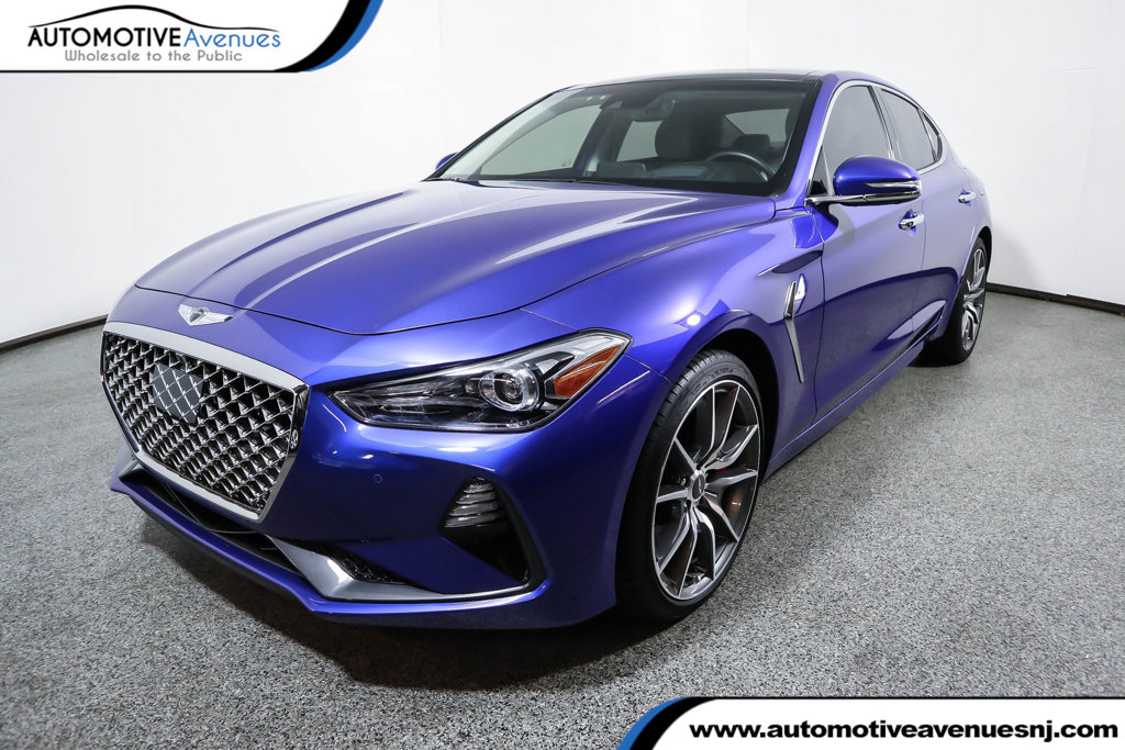 Pre-Owned 2019 Genesis G70 3.3T Advanced with Elite & Prestige Packages