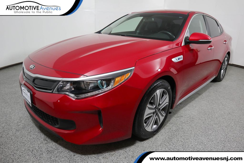 Pre-Owned 2017 Kia Optima Hybrid EX Automatic
