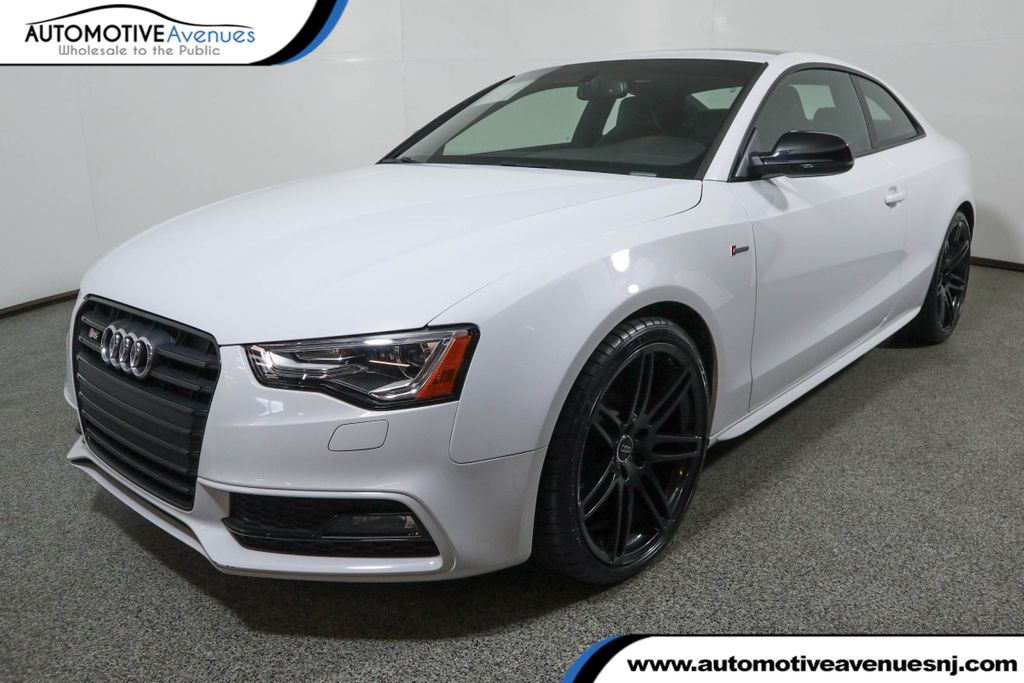 Pre-Owned 2017 Audi S5 Coupe 3.0 TFSI S Tronic w/ Black Optic & Technology Package
