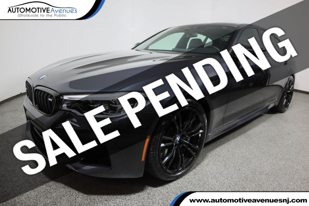 Pre-Owned 2019 BMW M5 Competition w/ Executive and Driving Assistance Plus Pkgs