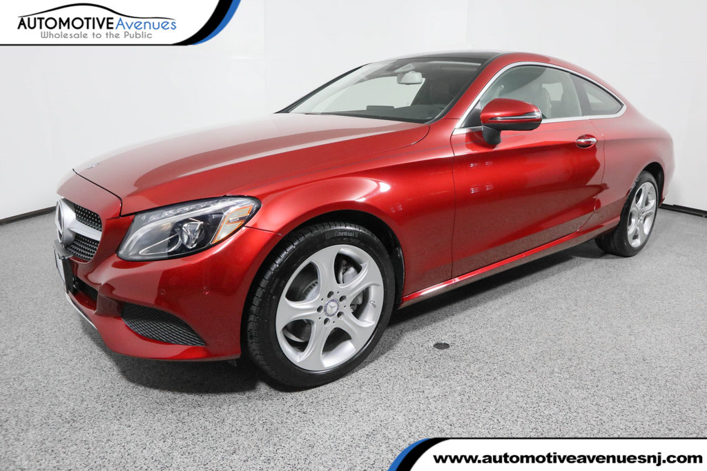 Pre-Owned 2017 Mercedes-Benz C-Class C 300 4MATIC® Coupe with Premium 2 Package
