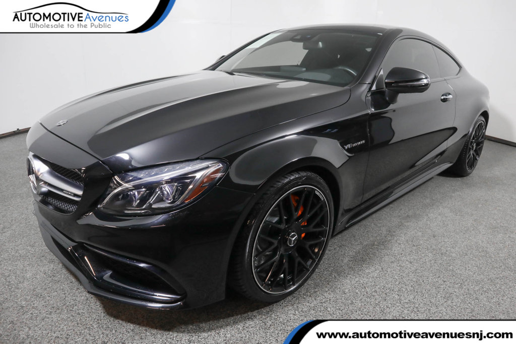 Pre-Owned 2018 Mercedes-Benz C-Class AMG® C 63 Coupe w/ Advanced Lighting & Multimedia Packages