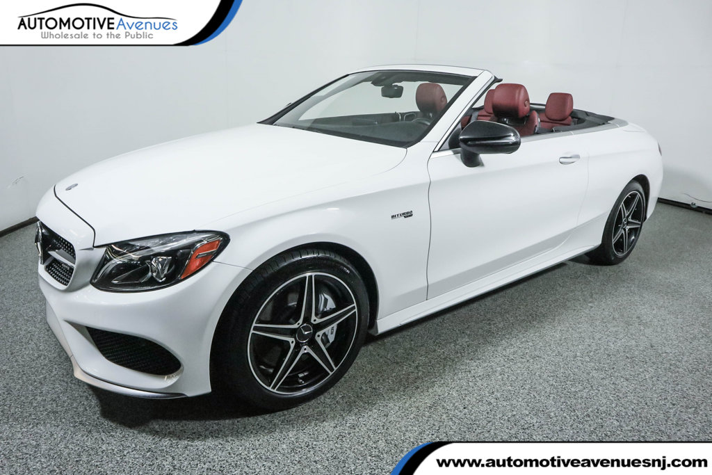 Pre Owned 2017 Mercedes Benz C Cl Amg 43 4matic Cabriolet