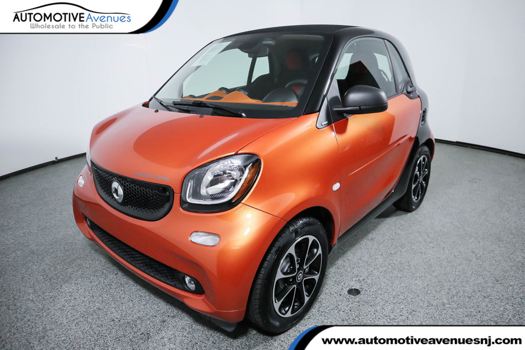 Pre Owned 2017 Smart Fortwo Electric Drive Pion Coupe